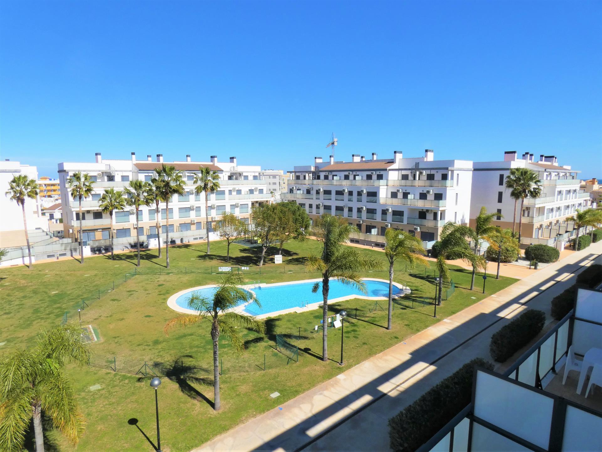 Dunas MET Oliva Nova AP183,Wunderschöne und komfortable Ferienwohnung in Oliva, an der Costa Blanca, Spanien  mit Gemeinschaftspool für 4 Personen.....