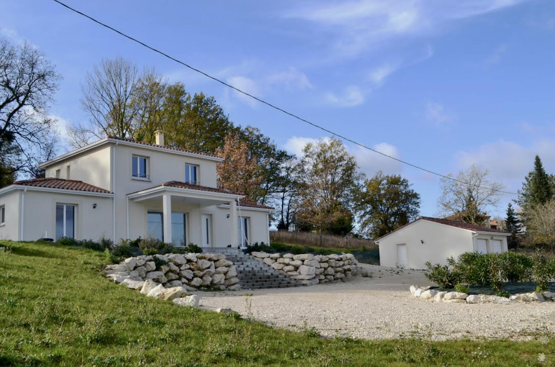 Garo,Ferienhaus  mit privatem Pool in Pujols, Aquitaine, Frankreich für 9 Personen...
