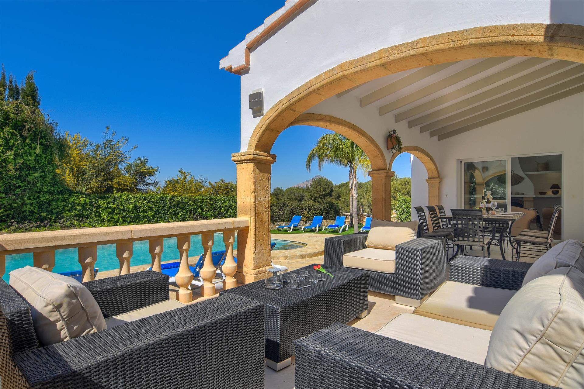 Stella Maris 6,Beautiful and classic villa in Javea, on the Costa Blanca, Spain  with private pool for 6 persons.....