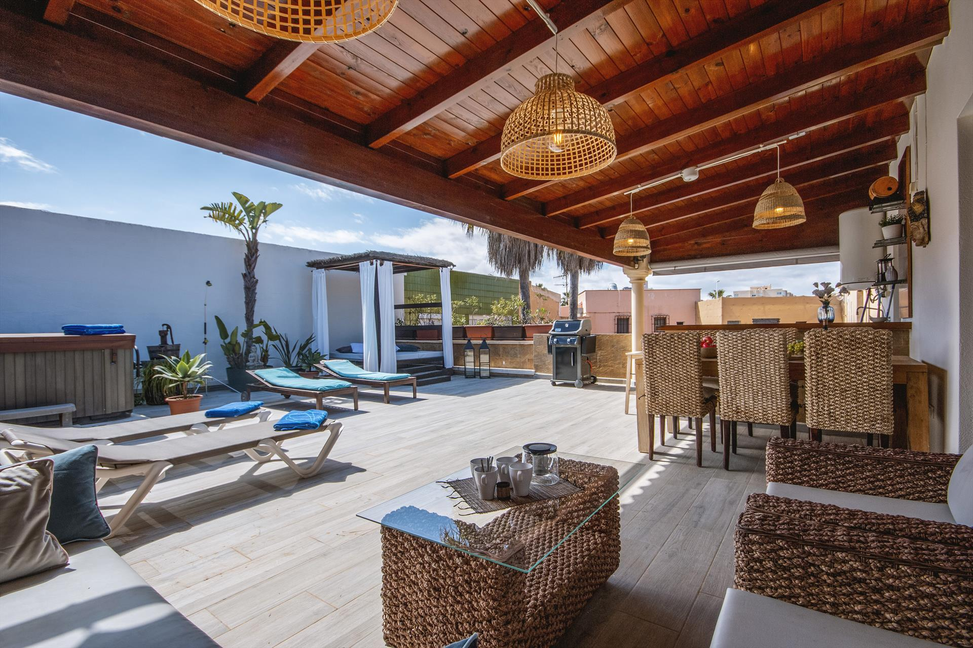 Oasis 8 pax,Wunderschöne und komfortable Ferienwohnung in Javea, an der Costa Blanca, Spanien für 8 Personen.....