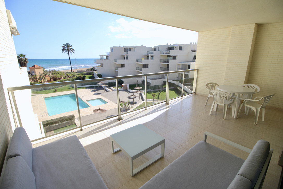 Tierra de Mar 77,Apartment  with communal pool in Denia, on the Costa Blanca, Spain for 4 persons.....