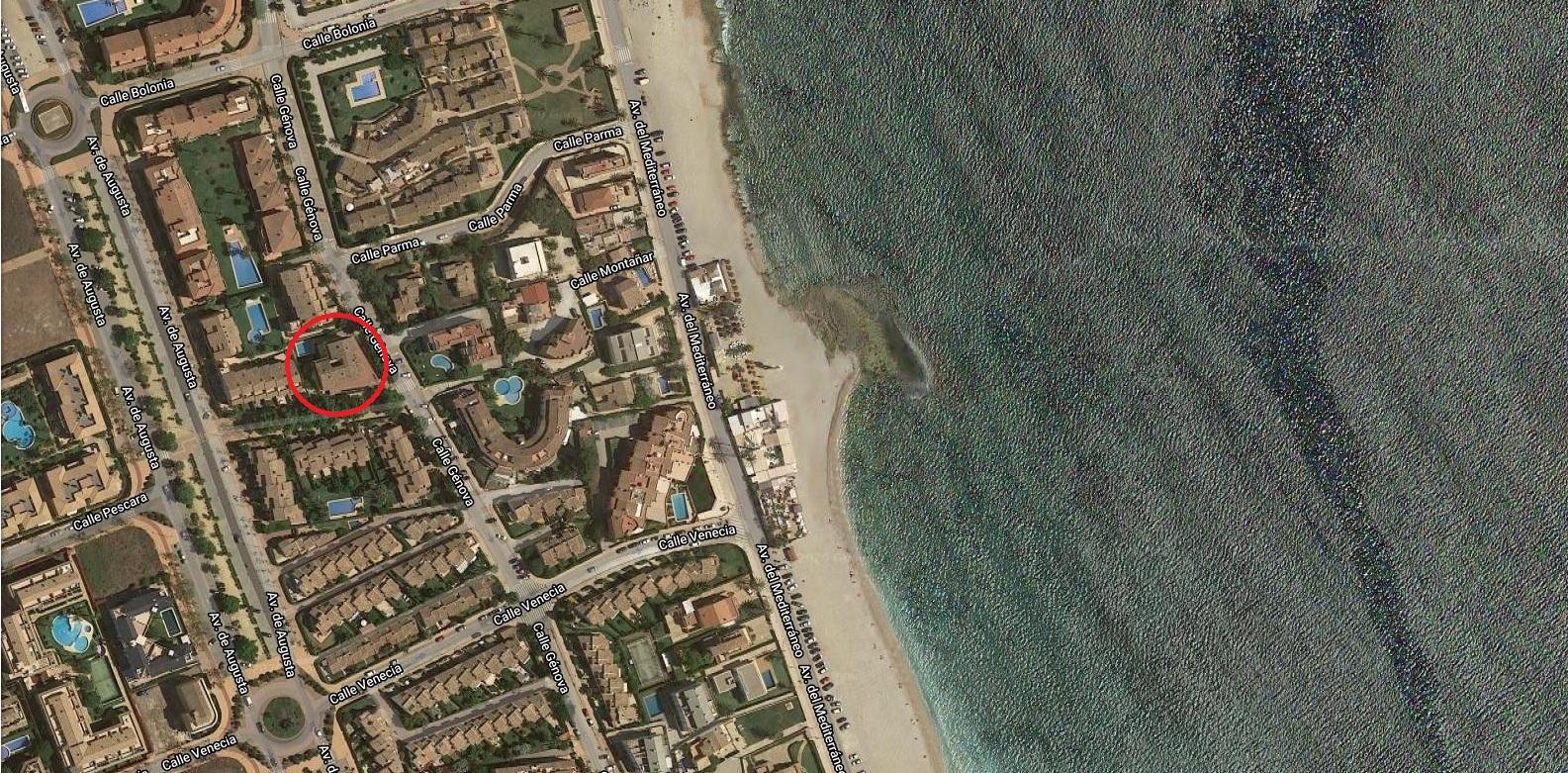 Genova,Bel appartement confortable  avec piscine communale à Javea, sur la Costa Blanca, Espagne pour 7 personnes.....