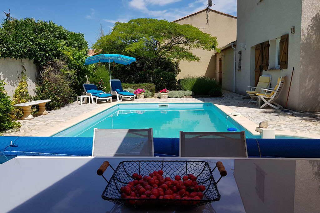 La blanche, Villa  with heated pool in Bize Minervois, Languedoc Roussillon, France for 4 persons...