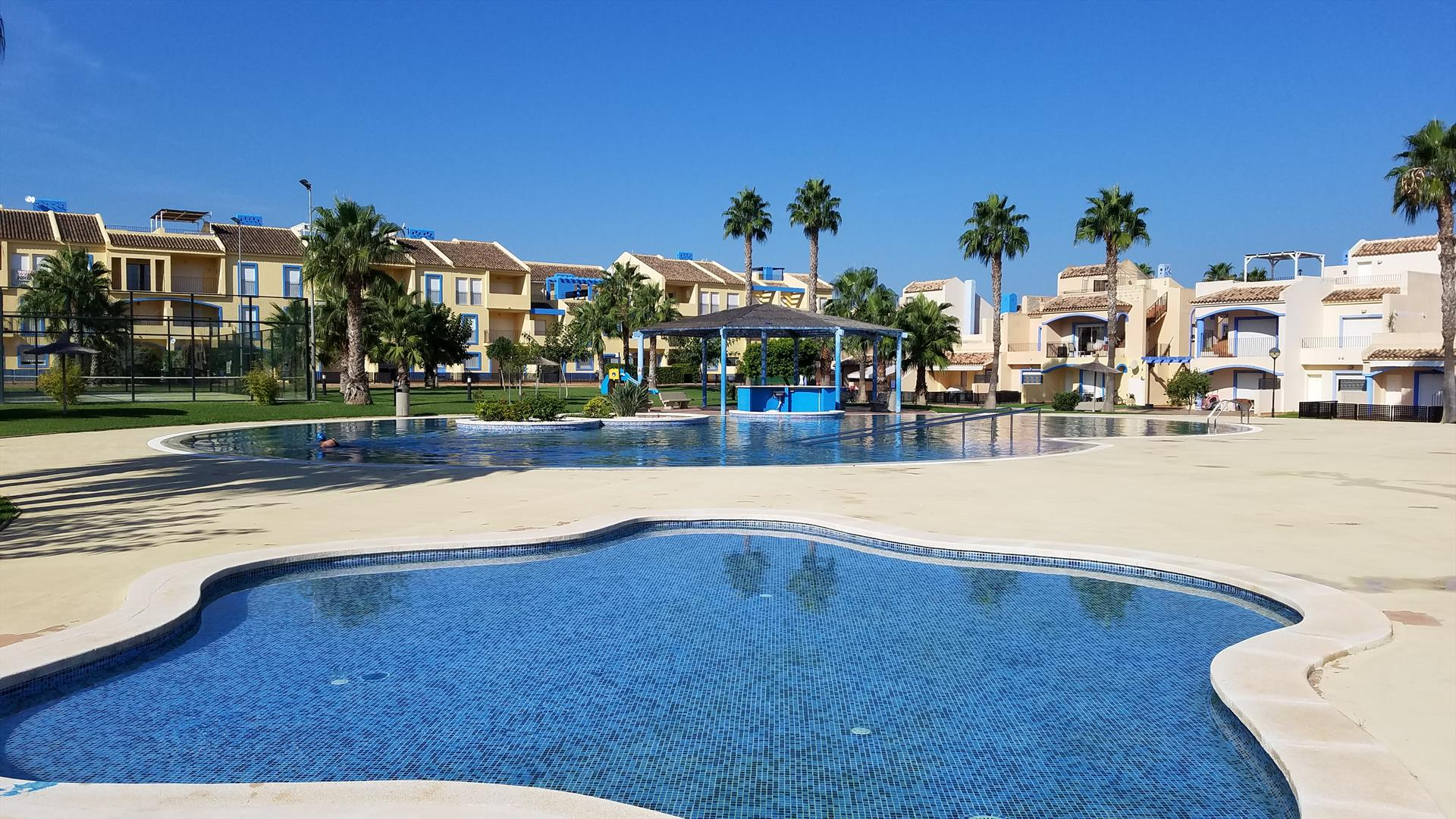 Paradise El Vergel PB2207,Modern and comfortable apartment in Denia, on the Costa Blanca, Spain  with communal pool for 7 persons.....