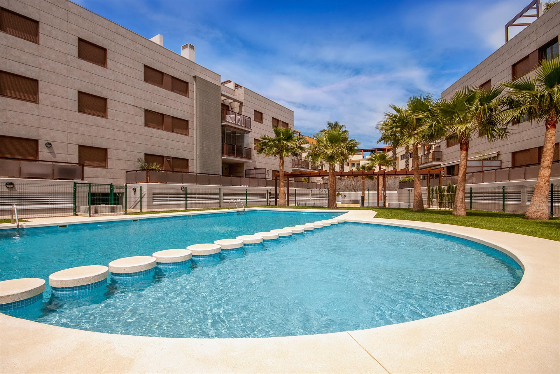 Golden Star,Modern and comfortable apartment in Javea, on the Costa Blanca, Spain  with communal pool for 4 persons...