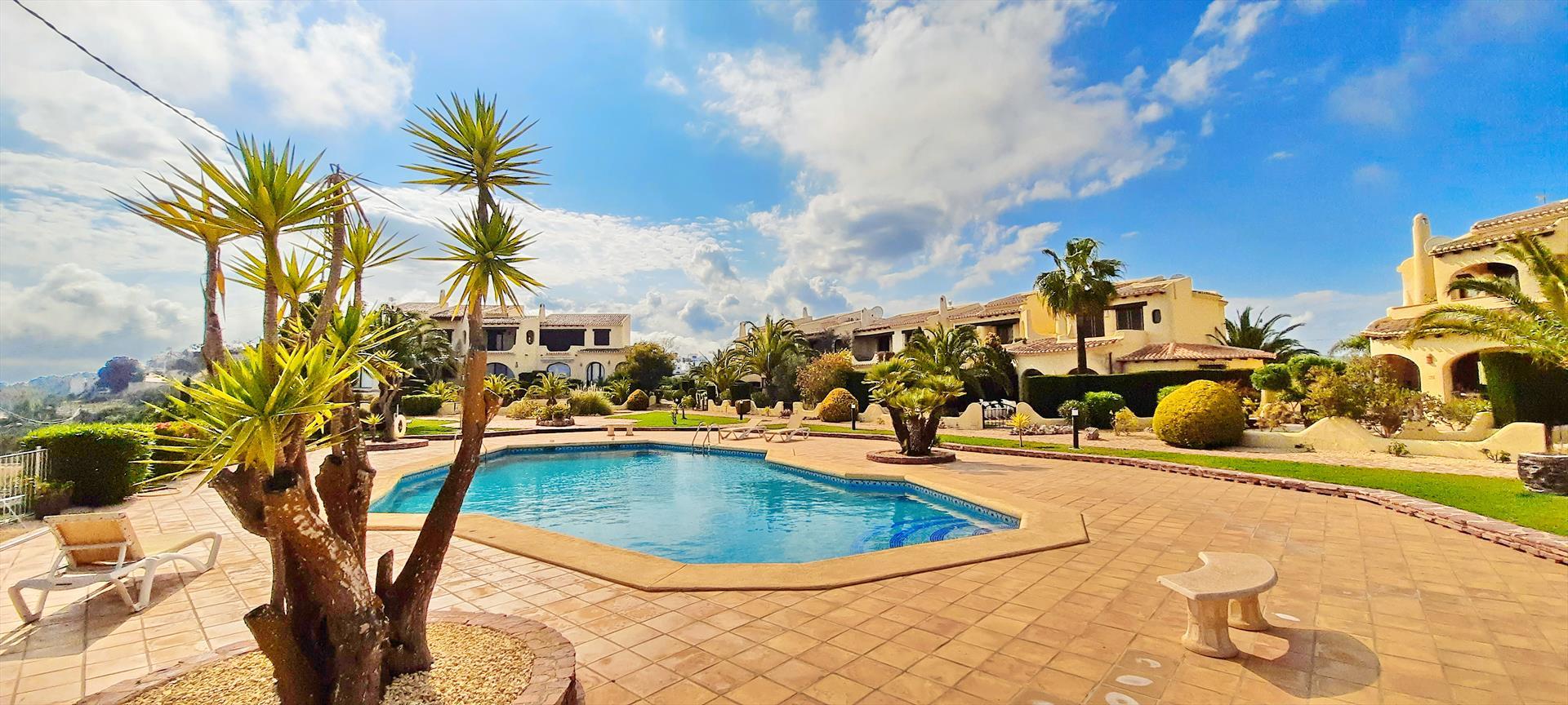 El Sarchal Moraira,Wunderschöne und gemütliche Ferienwohnung in Moraira, an der Costa Blanca, Spanien  mit Gemeinschaftspool für 6 Personen.....