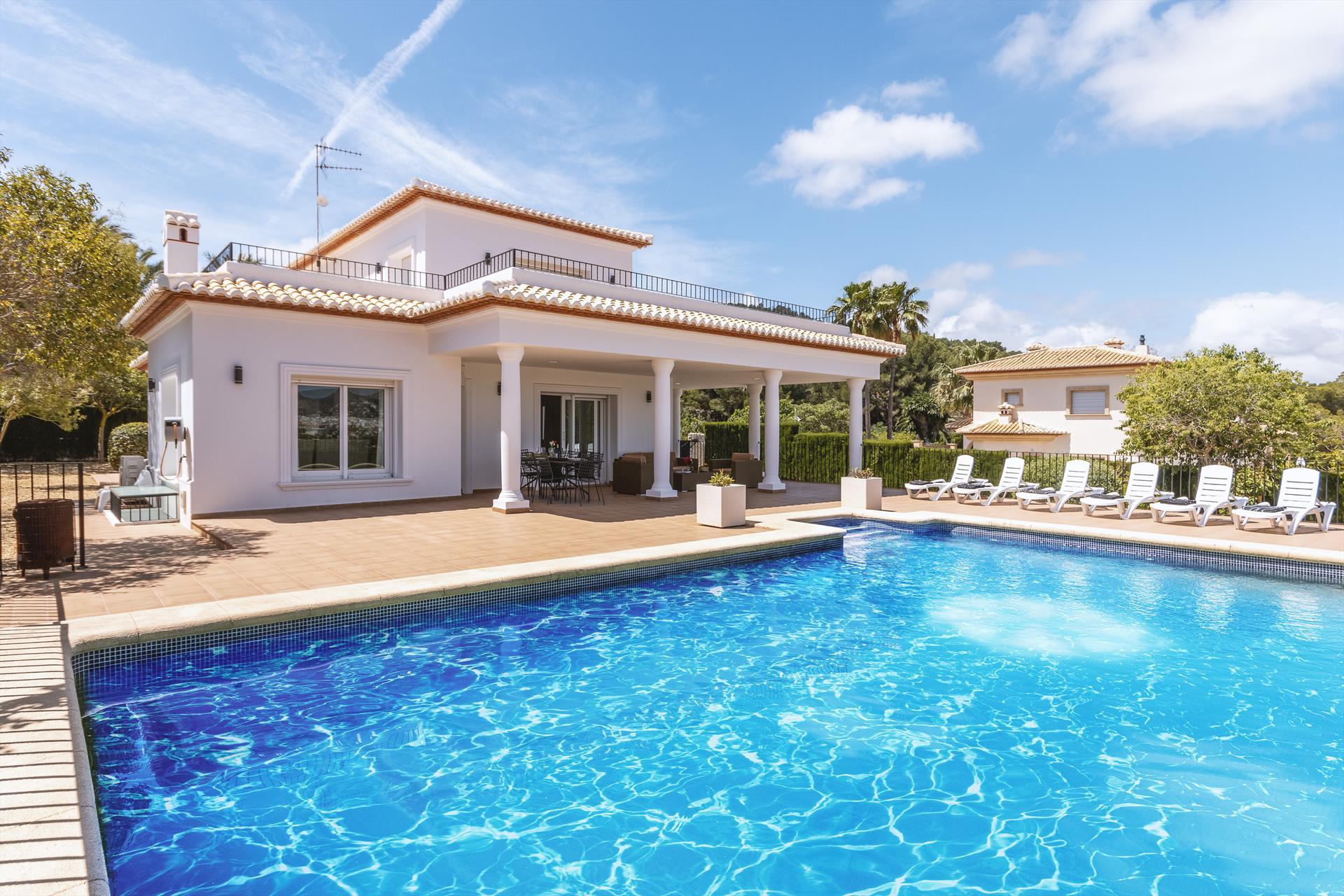 Puerta Fenicia,Moderne Luxus Villa  mit privatem Pool in Javea, an der Costa Blanca, Spanien für 10 Personen.....