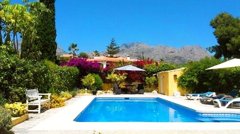 Grote en comfortabele woning in La Nucia, aan de Costa Blanca, Spanje voor 6 personen