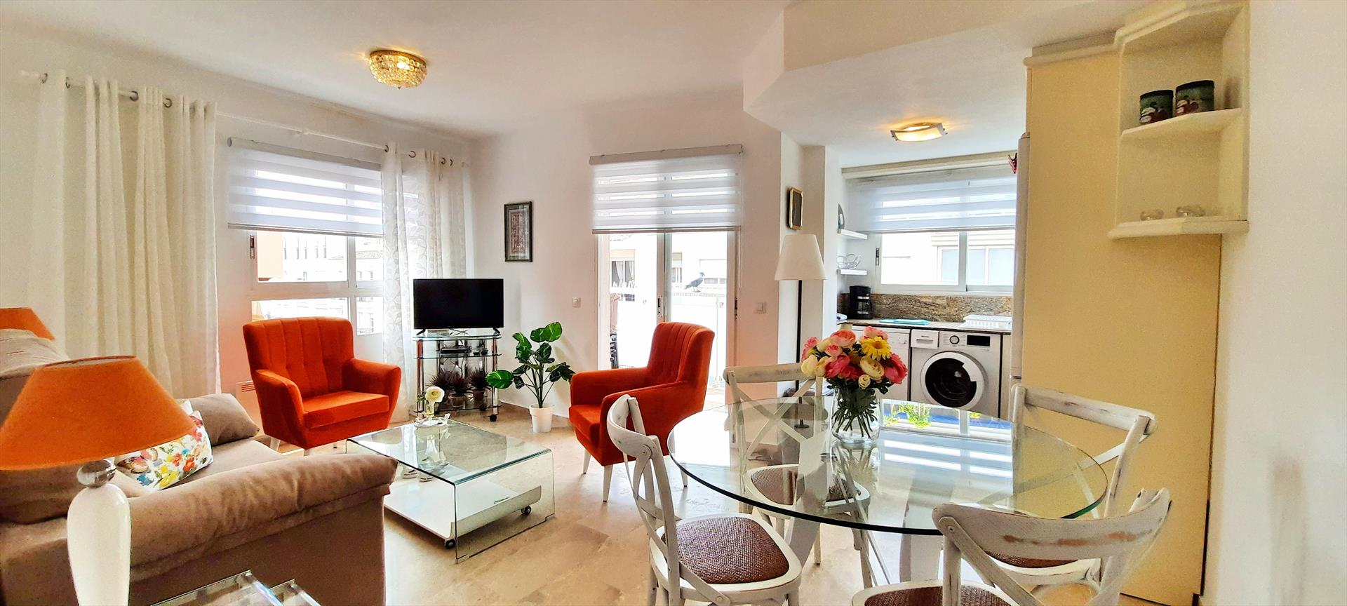 Mar y Sol,Wonderful and comfortable apartment in Moraira, on the Costa Blanca, Spain for 4 persons.....