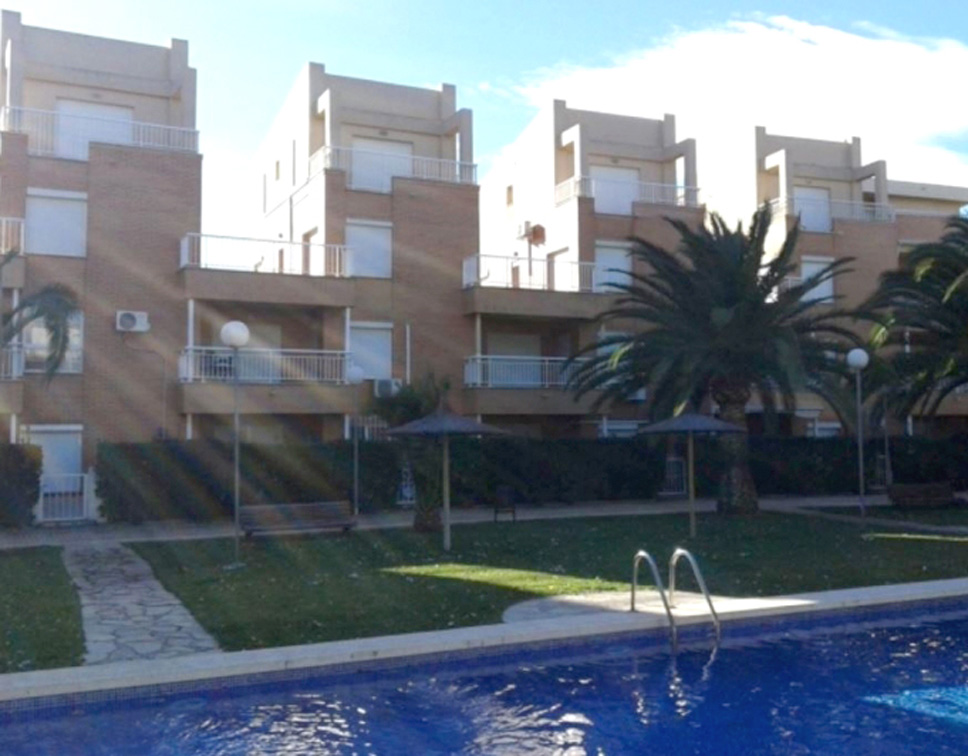 Mediterráneo AP2226,Large and cheerful apartment  with communal pool in Denia, on the Costa Blanca, Spain for 6 persons.....