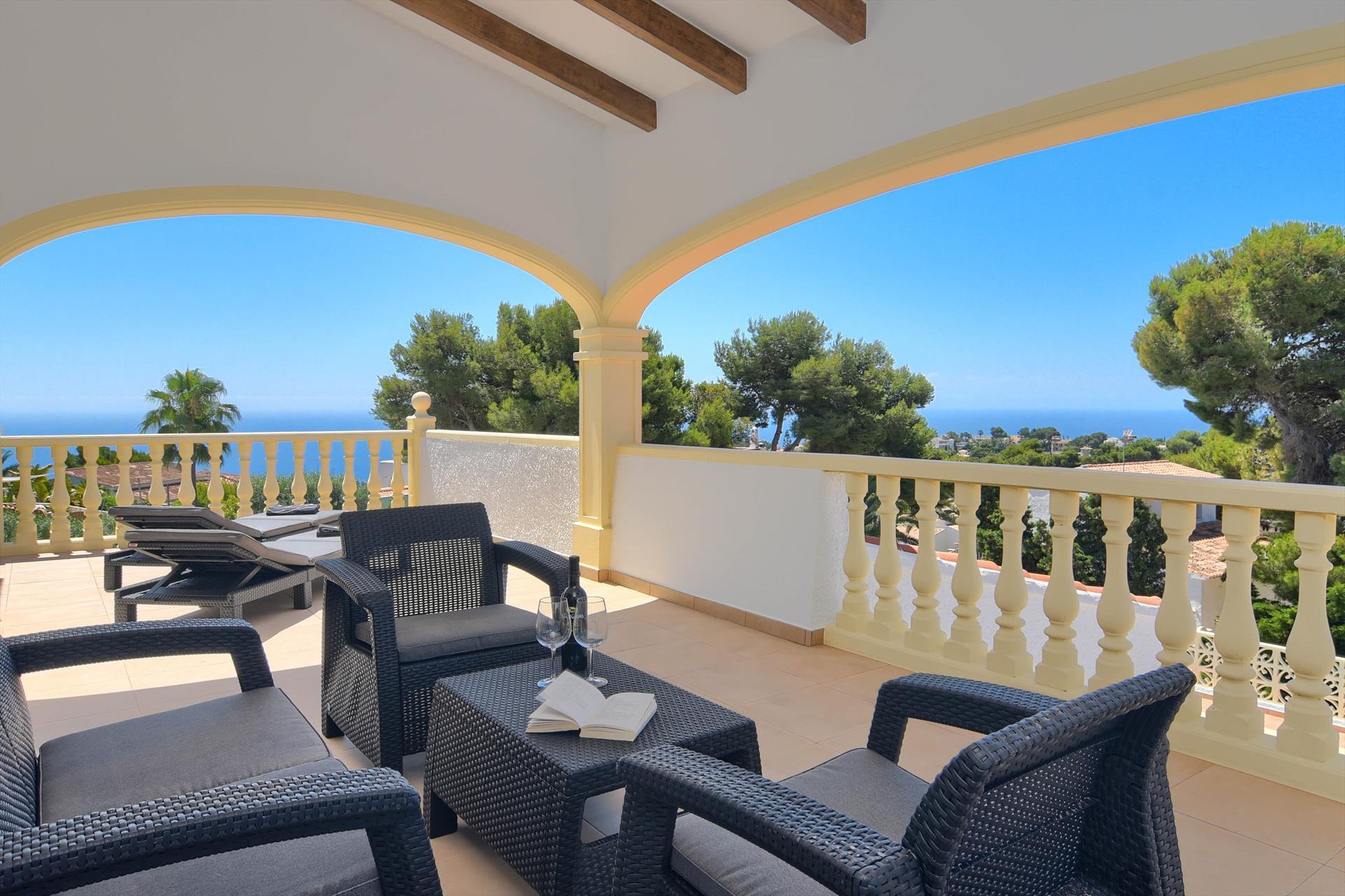 Casa de Missy 6 pax,Villa maravillosa y acogedora  con piscina climatizada en Javea, en la Costa Blanca, España para 6 personas...