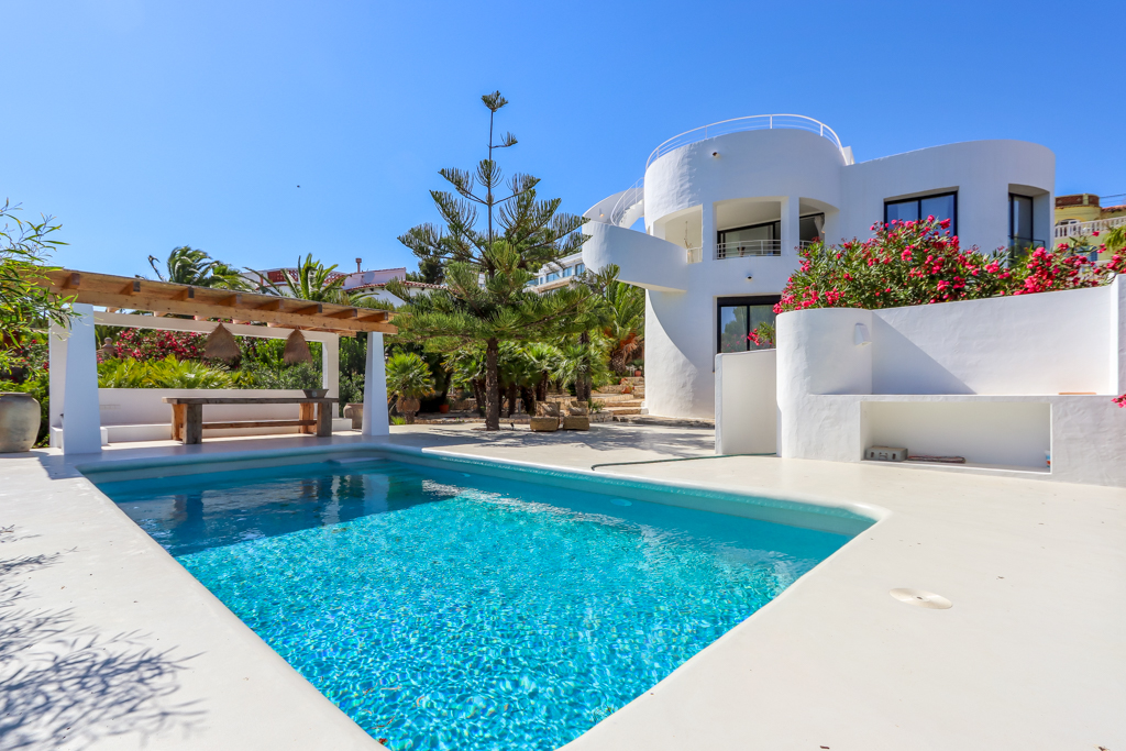 La Nao,Large and nice villa in Javea, on the Costa Blanca, Spain  with private pool for 8 persons.....