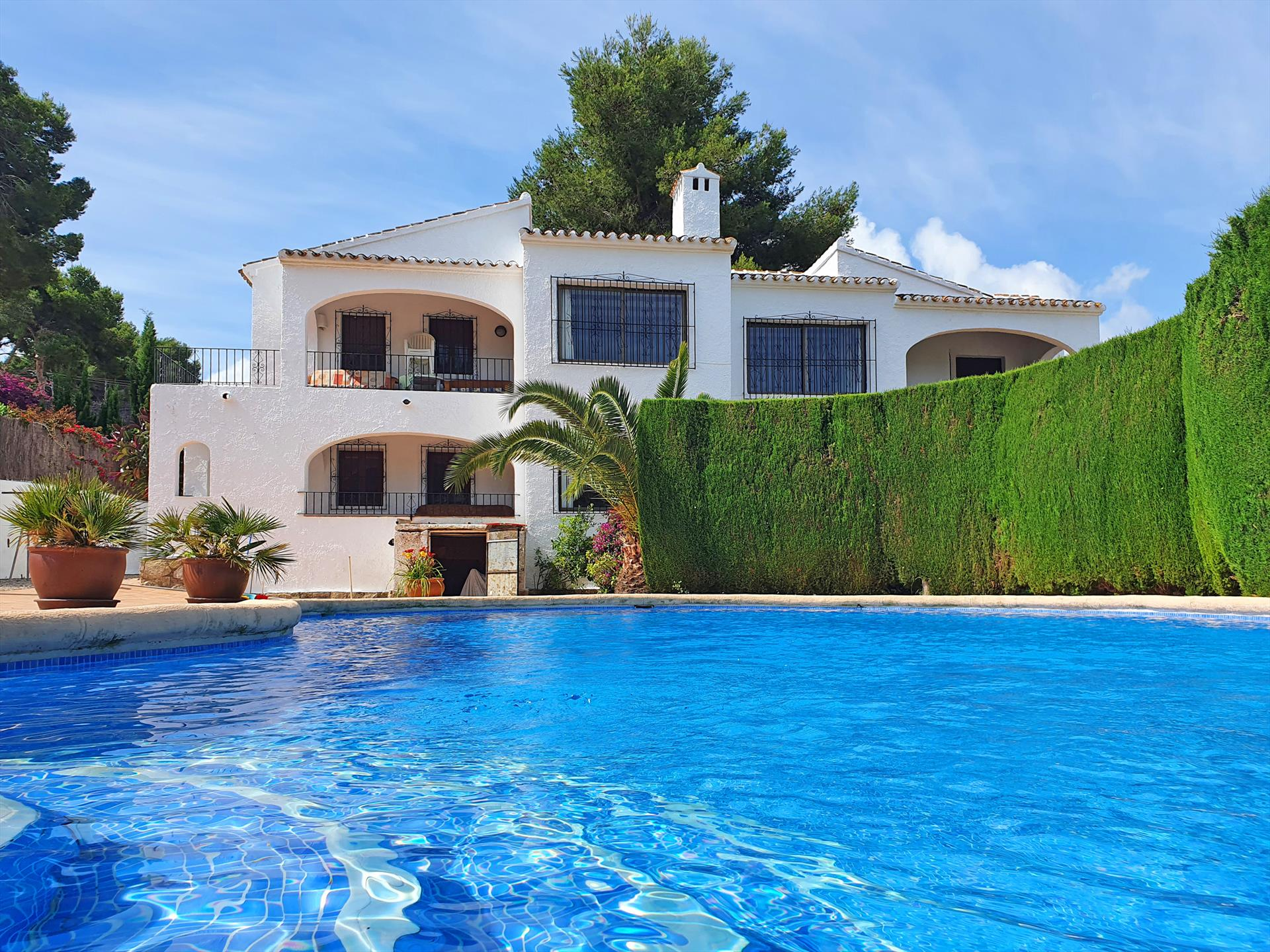 Finca Campo Bello Apartamento D,Finca Campo Bello is a lovely complex in Javea consisting of a total of 5 appartments for 4 or 6 persons each, it has a.....