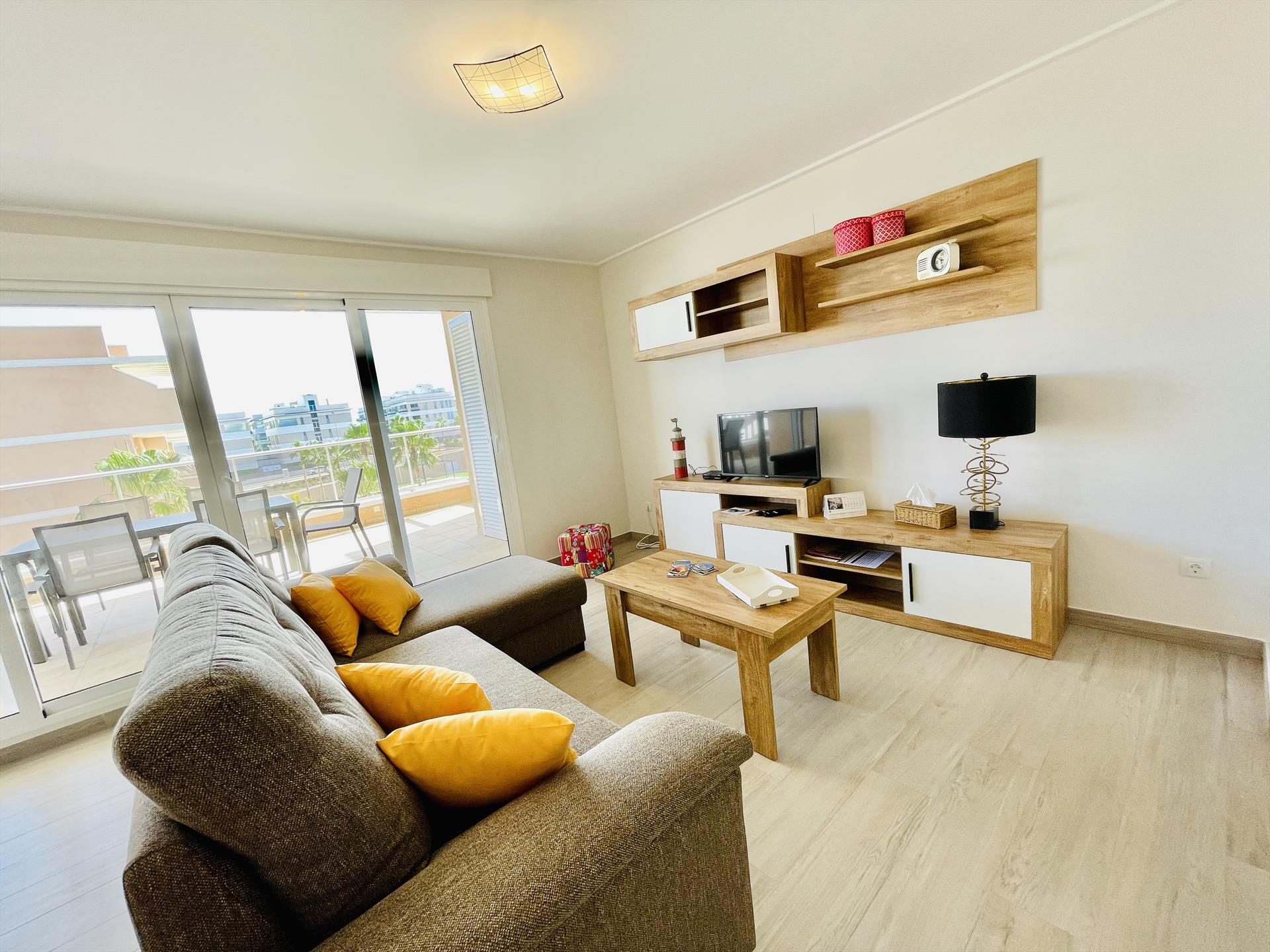 Azul,Apartment in Orihuela Costa, on the Costa Blanca, Spain  with communal pool for 6 persons.....