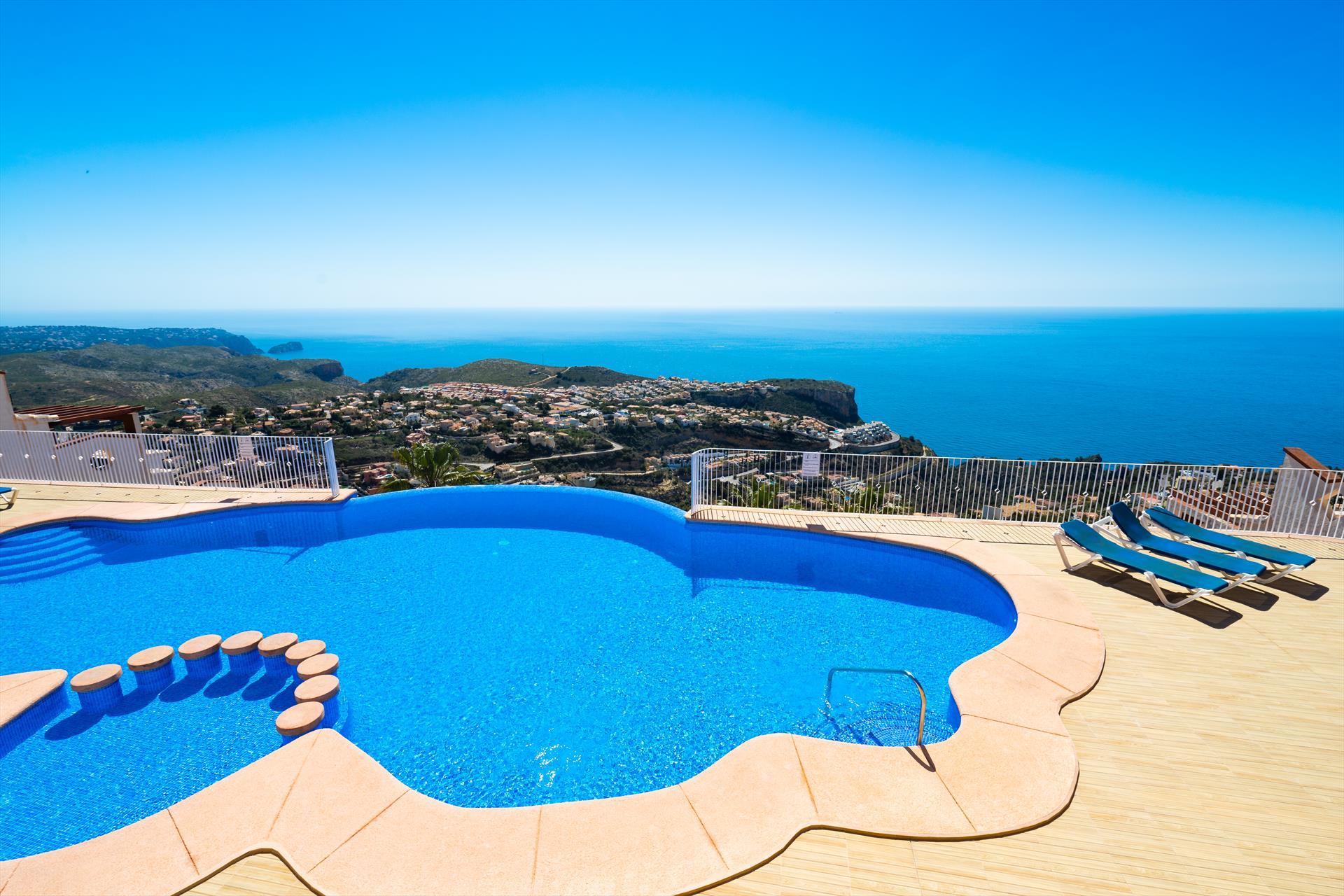 Elepege,Apartamento maravilloso y confortable en Benitachell, en la Costa Blanca, España para 4 personas...