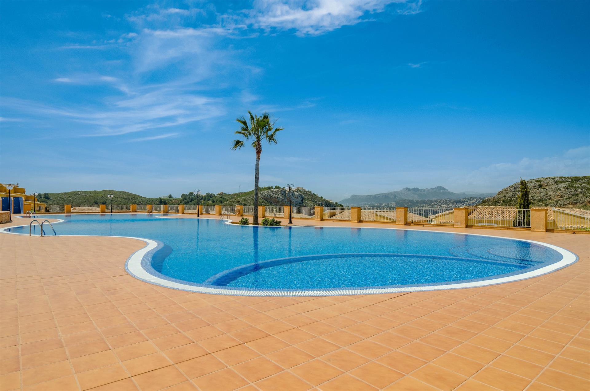 Valeria,Apartamento maravilloso y gracioso en Benitachell, en la Costa Blanca, España para 4 personas...
