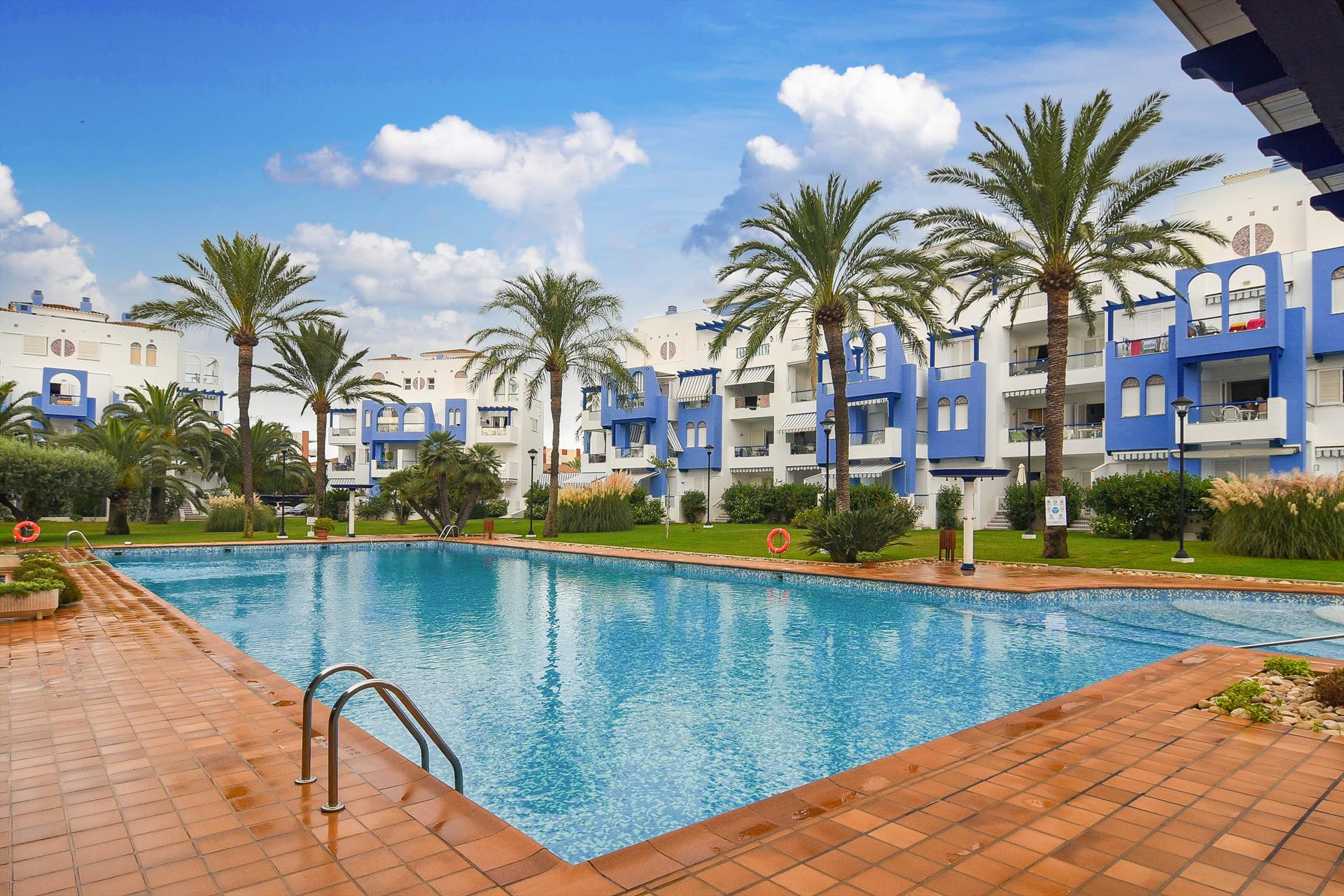 Els Molins 4,Classic and cheerful studio  with communal pool in Denia, on the Costa Blanca, Spain for 4 persons...