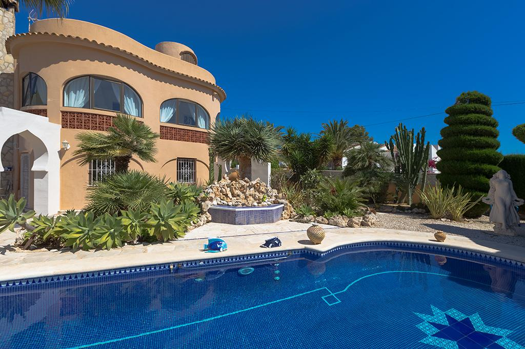 Jutta 4, Villa in Benissa, on the Costa Blanca, Spain  with private pool for 4 persons.....