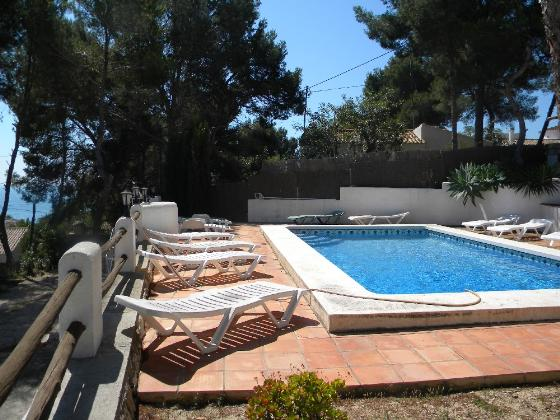 Villa 2018, Villa in Moraira, on the Costa Blanca, Spain  with private pool for 12 persons.....