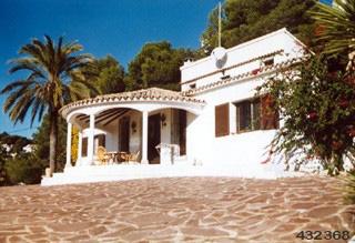 Villa 2002,Villa  met privé zwembad in Moraira, aan de Costa Blanca, Spanje voor 8 personen.....