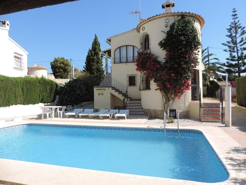 Villa 2014, Villa  with private pool in Calpe, on the Costa Blanca, Spain for 6 persons.....