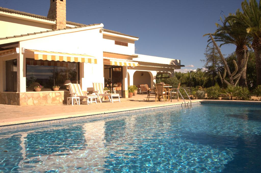 Twentyfive La Nucia, Villa  with private pool in Altea, on the Costa Blanca, Spain for 6 persons.....