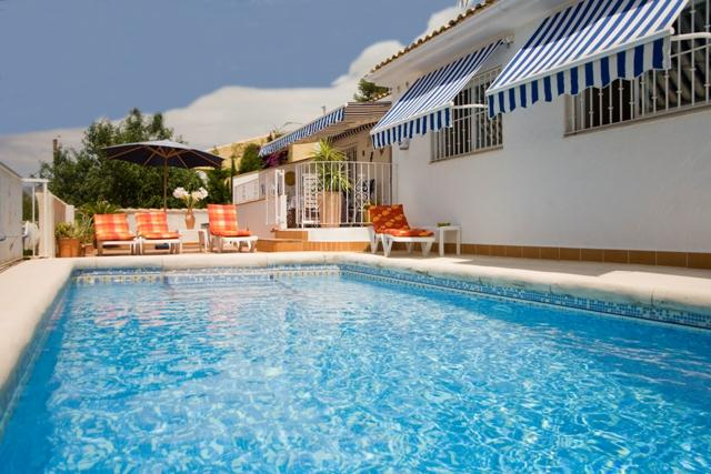 Mamala Polop, Comfortable villa  with private pool in Altea, on the Costa Blanca, Spain for 6 persons.....