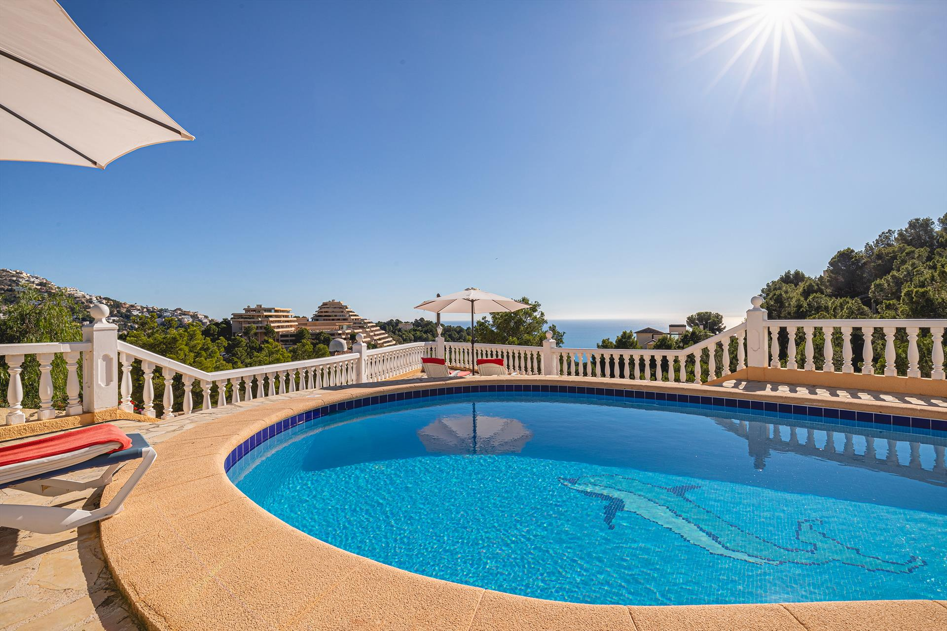 Casa Urlisa, Villa  with private pool in Altea, on the Costa Blanca, Spain for 6 persons.....