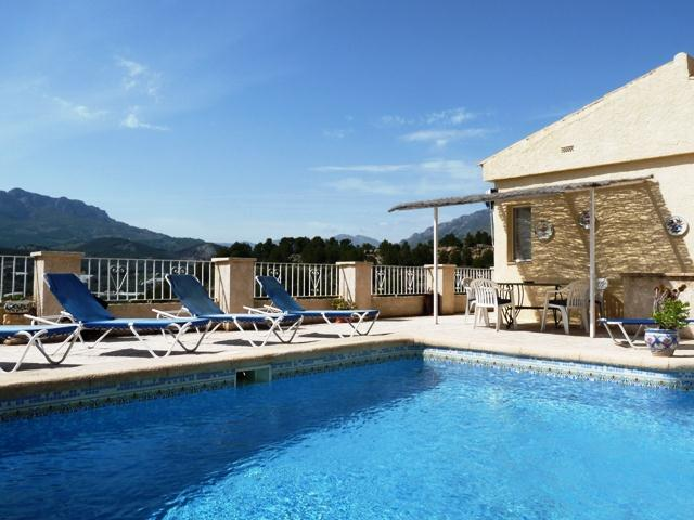 Romero Polop, Villa in Altea, on the Costa Blanca, Spain  with private pool for 6 persons...