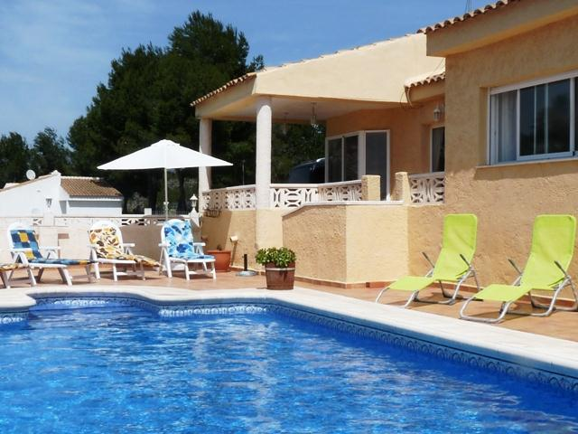 Sierra Verde Polop, Villa  with private pool in Altea, on the Costa Blanca, Spain for 6 persons.....