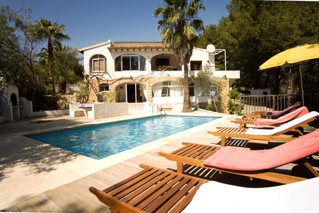 Gabriela Altea, Grosse und komfortable Villa in Altea, an der Costa Blanca, Spanien  mit privatem Pool für 10 Personen.....