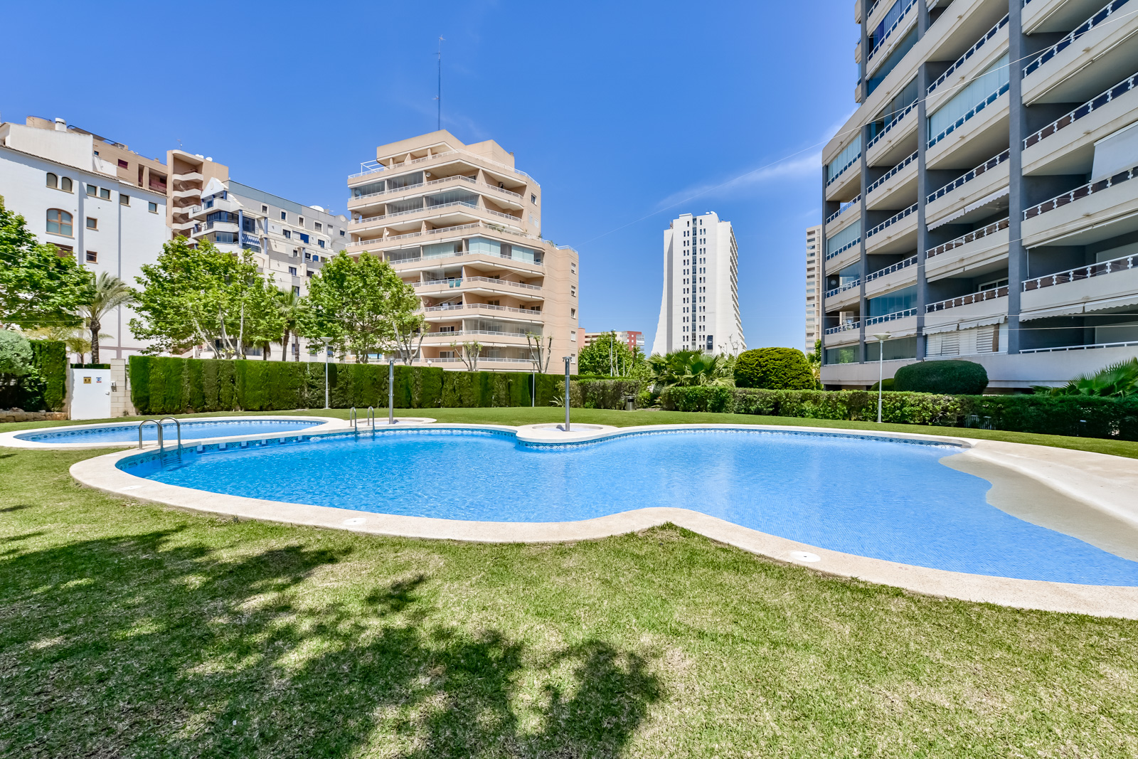 Apartamento Apolo XVIII 57, Apartment in Calpe, on the Costa Blanca, Spain  with communal pool for 6 persons.....