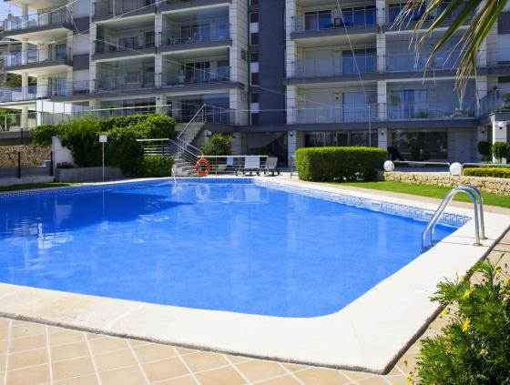 Apartamento Mesana 33, Apartment in Calpe, on the Costa Blanca, Spain  with communal pool for 4 persons.....