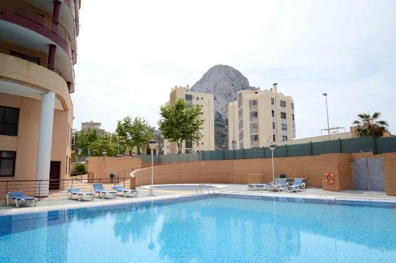Apartamento Nautilus 34B,Holiday apartment situated in Calpe (Costa Blanca) for maximum 4 people.Nice apartment, situated not far from the