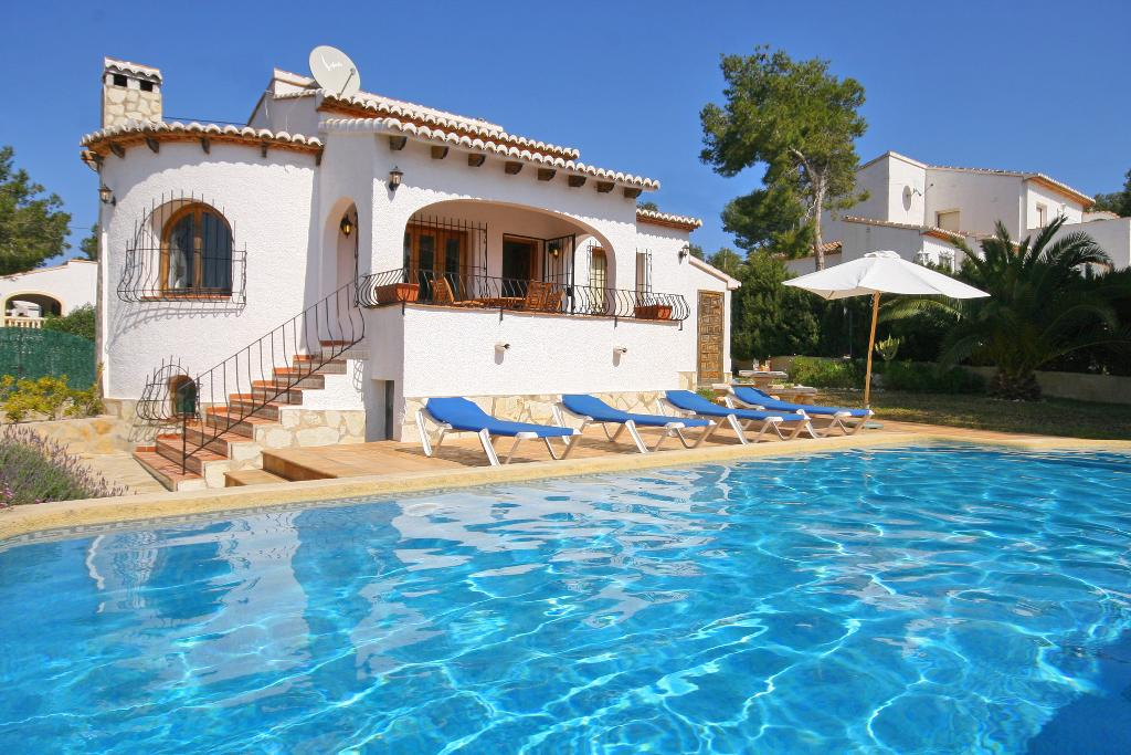 Xenia, Lovely and classic villa in Javea, on the Costa Blanca, Spain  with private pool for 4 persons...