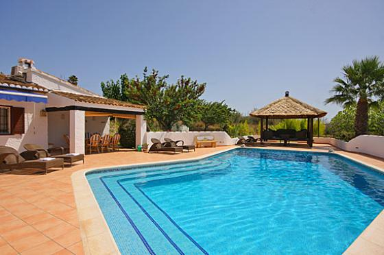 El Olivar, Beautiful and comfortable villa  with private pool in Javea, on the Costa Blanca, Spain for 6 persons...