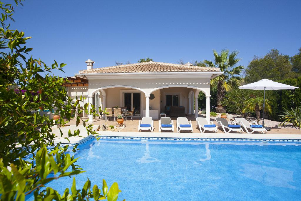Acheron, Beautiful and comfortable luxury villa  with private pool in Javea, on the Costa Blanca, Spain for 6 persons.....