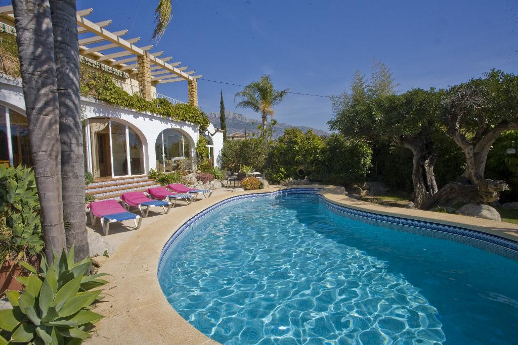 Finca el Tossal, Villa  with private pool in Altea, on the Costa Blanca, Spain for 6 persons...