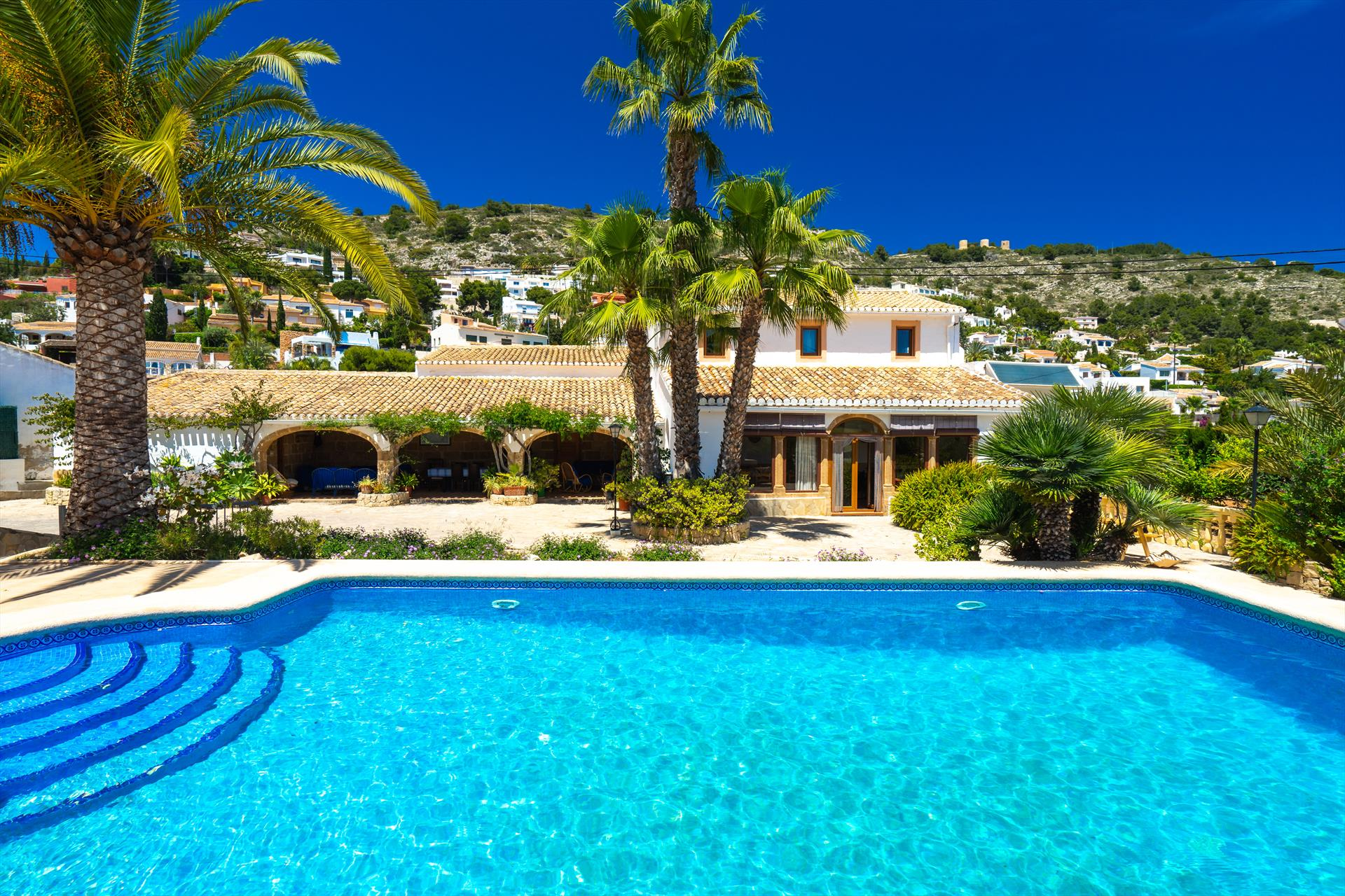 Casa Puri 14, Large and comfortable villa in Javea, on the Costa Blanca, Spain  with private pool for 14 persons...