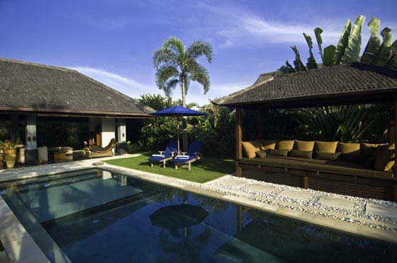 Rinca, Beautiful and comfortable villa  with private pool in Umalas, Bali, Indonesia for 6 persons...