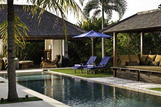 Moyo, Beautiful and comfortable villa  with private pool in Umalas, Bali, Indonesia for 6 persons...