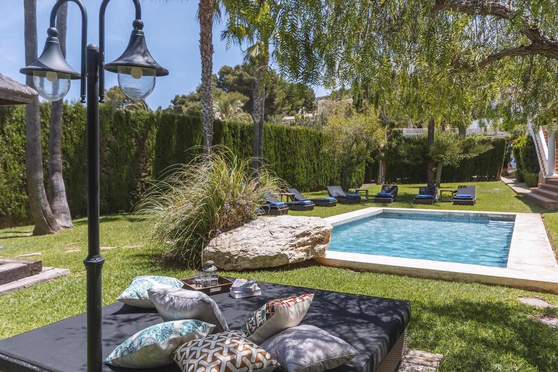 Belleza 14, Large and luxury villa  with private pool in Javea, on the Costa Blanca, Spain for 14 persons...