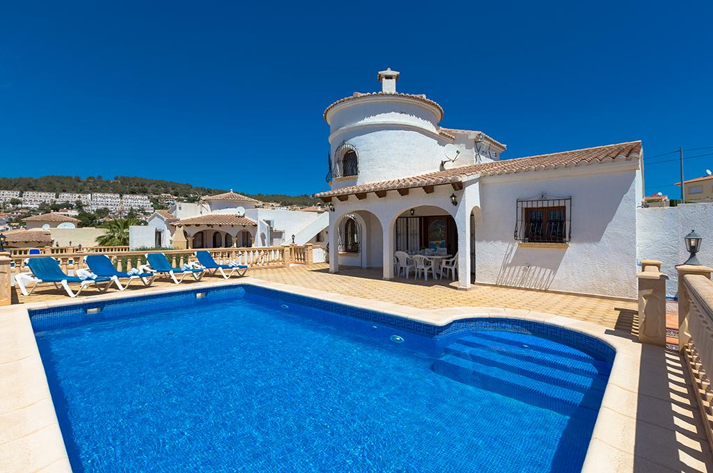 Bram 6, Villa in Calp, on the Costa Blanca, Spain  with private pool for 6 persons.....