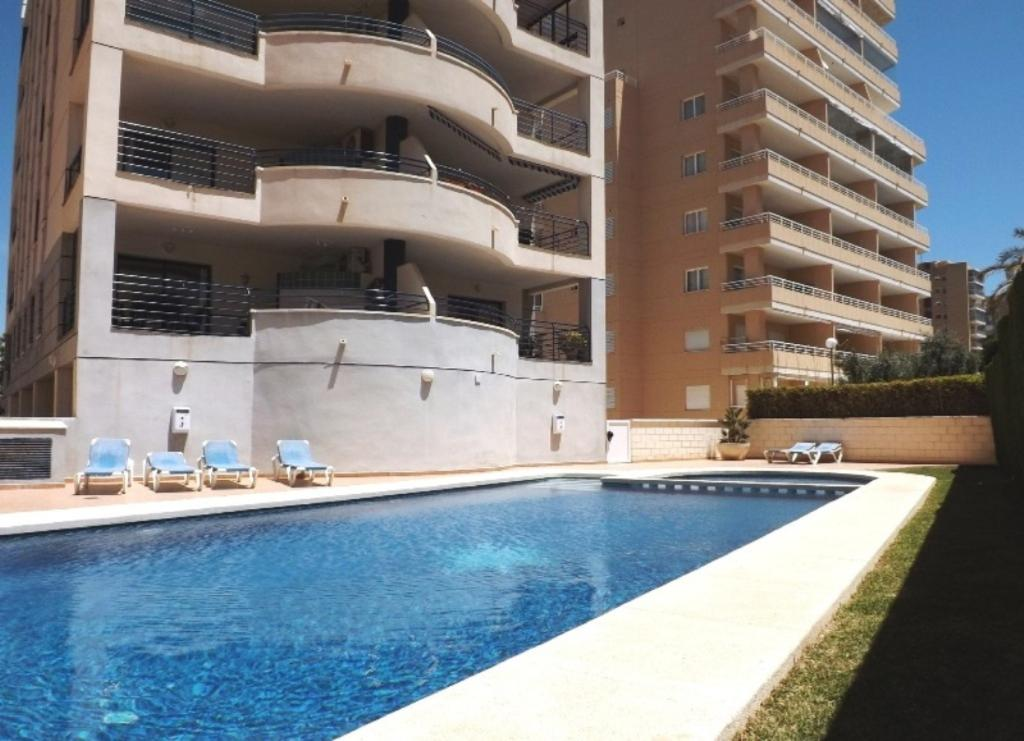 Apartamento Turis Nº 21, Apartment in Calpe, on the Costa Blanca, Spain  with communal pool for 7 persons.....