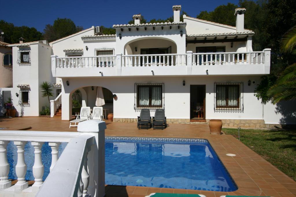 Villa Barry 6, Lovely and classic villa in Moraira, on the Costa Blanca, Spain  with private pool for 6 persons...