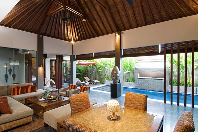 Akara 1BR, Beautiful and romantic villa  with private pool in Seminyak, Bali, Indonesia for 2 persons...