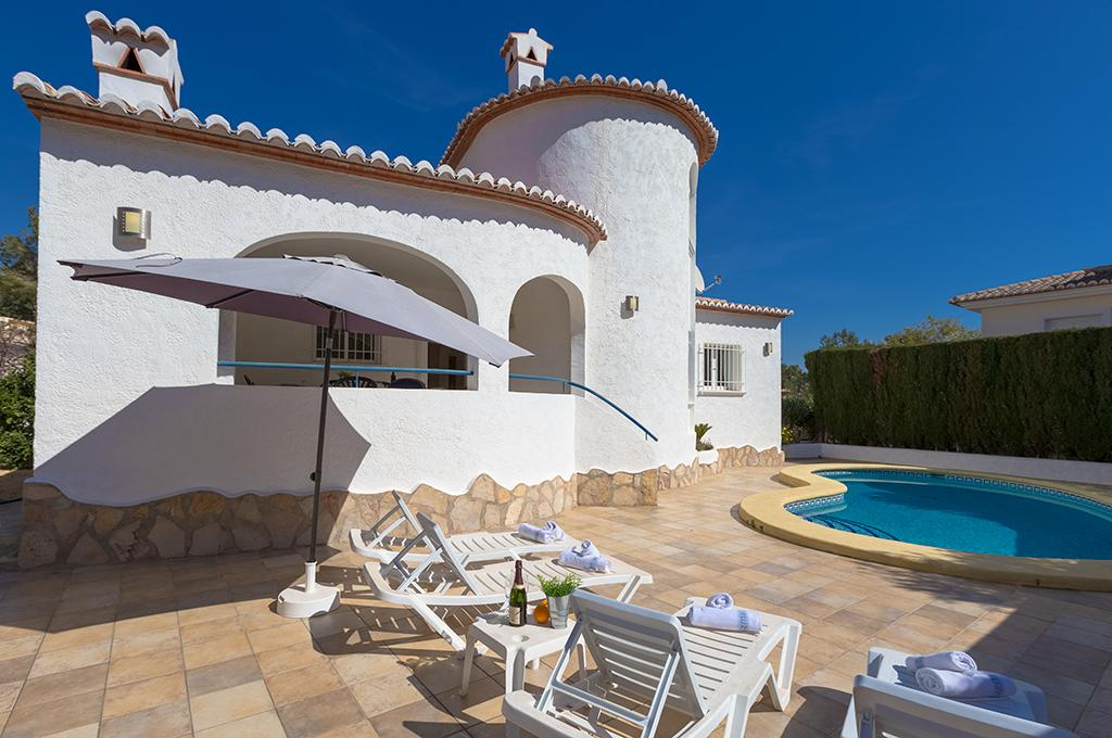 Olivos 4, Villa  with private pool in Benissa, on the Costa Blanca, Spain for 4 persons...
