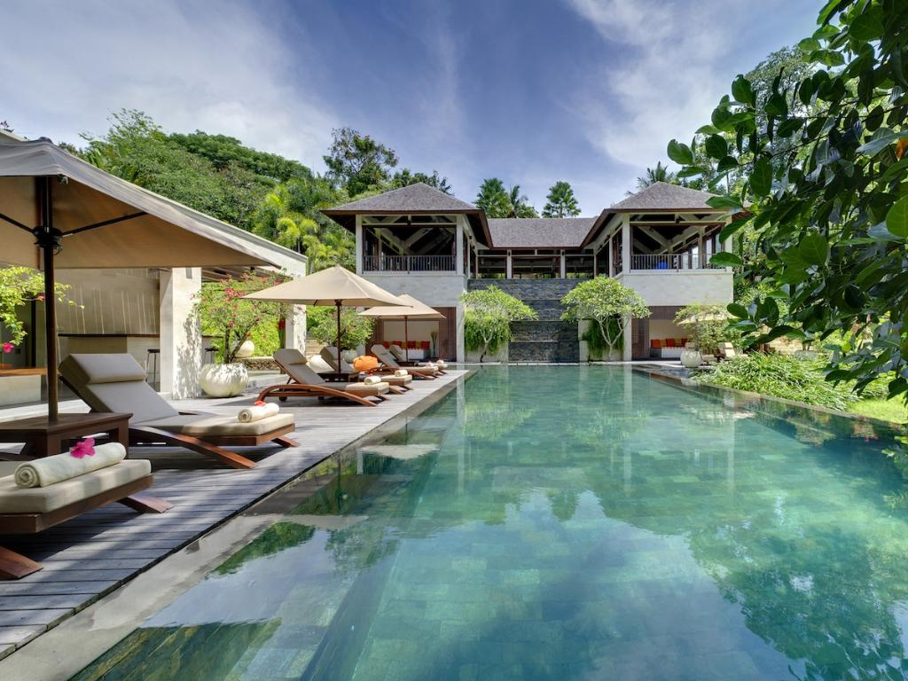 Arsana Estate, Grosse und  Luxus-Villa  mit privatem Pool in Tabanan, auf Bali, Indonesien für 10 Personen...