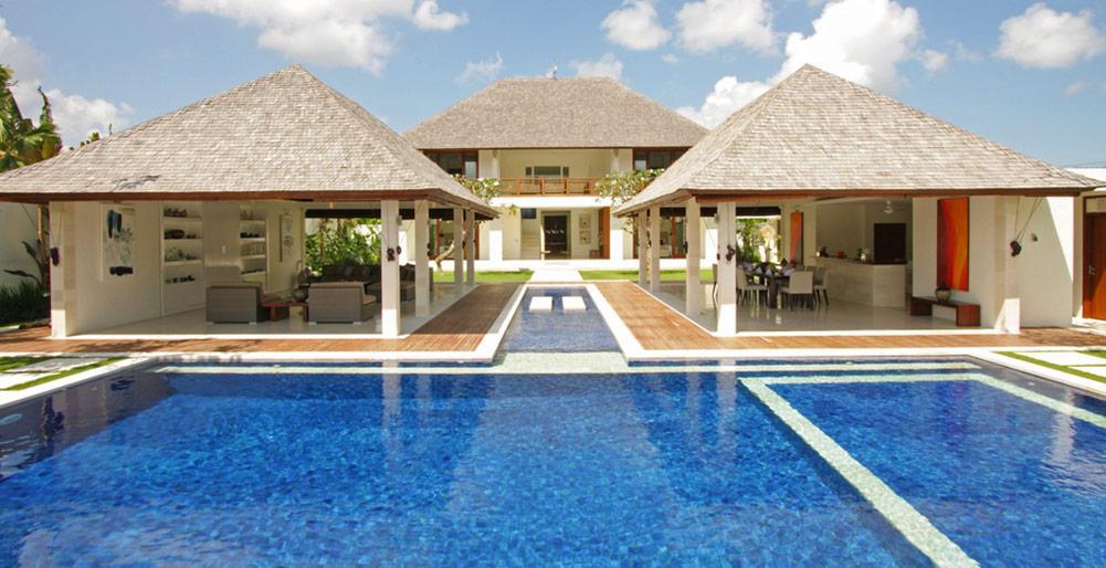 Asante,Mooie en luxe villa  met privé zwembad in Canggu, op Bali, Indonesië voor 8 personen...