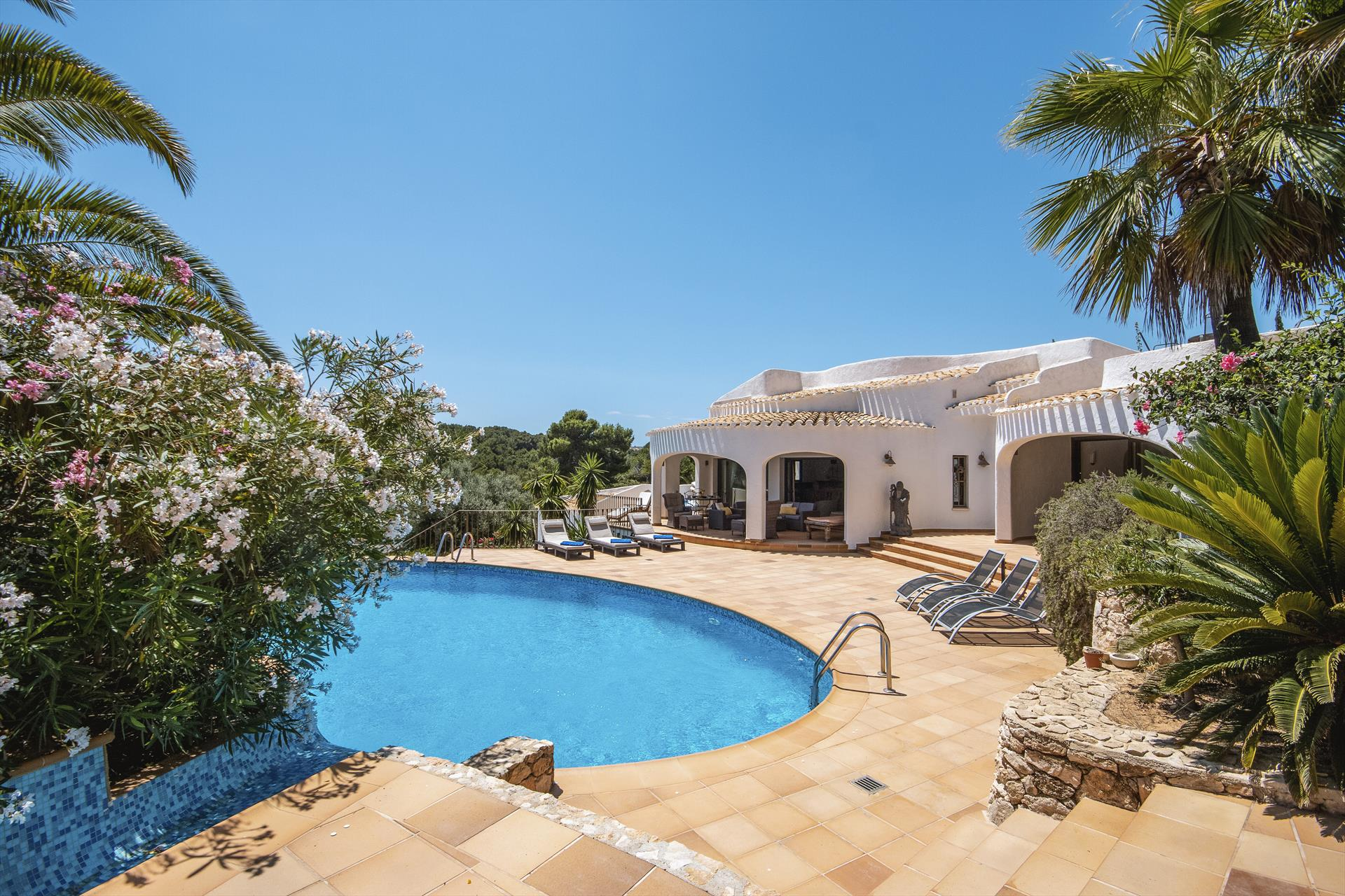 Villa Ancla, Comfortable villa  with heated pool in Javea, on the Costa Blanca, Spain for 7 persons.....